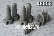 AMC48053 Advanced Modeling 1/48 ОФАБ-250ШЛ осколочно-фугасная авиабомба калибра 250 кг (в комплекте четыре бомбы)
