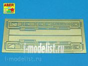 48 005, Aber 1/48 photo-etched Fenders for Stug.III, Ausf.B and PzKpfw Iii, Ausf.L