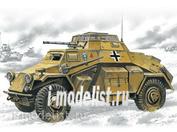 72411 ICM 1/72 Sd.Kfz.222- германский легкий бронеавтомобиль