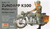 56003 Vulcan 1/35 Zundapp K500 Motorcycle