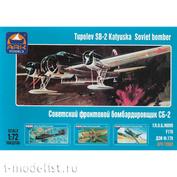 72002 ARK-models 1/72 Soviet front-line bomber SB-2