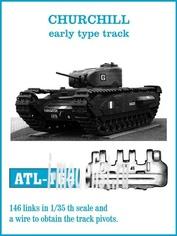 ATL-35-164 Friulmodel 1/35 Траки железные для CHURCHILL early type track