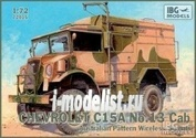 72015 IBG models1/72 Chevrolet C15A No.13 Cab Australian Pattern Wirel
