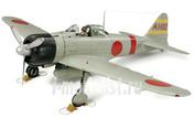 60317 Tamiya 1/32 A6M5 Zero Model 21 (Zeke), фототравление, 2 фигуры пилотов, подставка