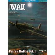 W7/2021 WAK 1/33 Fairey Battle Mk.I