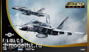 K48088 Kinetic 1/48 F/A-18A/C/D Aggressor VFC-12 & VFA-204