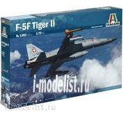 1382 Italeri 1/72 САМОЛЕТ F-5 F Twin Seater