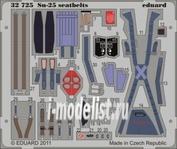 32725 Eduard 1/32 Цветное Фототравление для Su-25 seatbelts