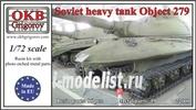 72009 OKB Grigorov 1/72 Soviet Heavy Tank Object 279