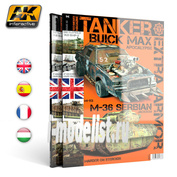AK-4812 AK Interactive TANKER TECHNIQUES MAGAZINE 02 (английский язык) / Технологии танков выпуск 2
