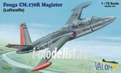 72084 Valom 1/72 Fouga CM.170 Magister (Luftwaffe)