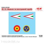 D3206 ICM 1/32 Декаль CR. 42 Falco на иностранной службе