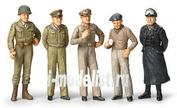 32557 Tamiya 1/48 Знаменитые генералы (5 фигур) II Мировой войны