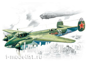 72031 ICM 1/72 ТУ-2С- советский бомбардировщик Второй Мировой войны.