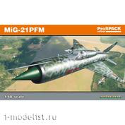 8237 Eduard 1/48 Самолет MiG-21PFM PrifiPACK