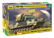 3633P Zvezda 1/35 Russian anti-aircraft missile system Tor-M2