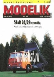 MD33/11 Modelik 1/25 Star 28/29