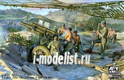 AF35182 AFVClub 1/35 105mm Howitzer M2A1 Carriage M2A2(WW II Version)