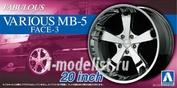 05425 Aoshima 1/24 Fabulous Various MB-5 Face-3 20inch