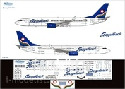 738-008 Ascensio 1/144 Декаль на самолет боенг 737-800 (яктия старая)