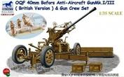 CB35111SP Bronco 1/35 Canon Anti-Aérien Bofors 40mm OQF