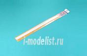 70116 Tamiya Пластиковые треугольные стержни. Размер: 2х400мм. Количество: 10шт.