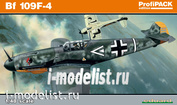 82114 Edward 1/48 Bf 109F-4
