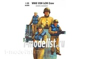 00408 Trumpeter 1/35 WW2 USN LCM crew