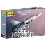 80303 Heller 1/72 Самолет Mirage 2000C