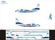 А24-001 Ascensio 1/144 Декаль на самолет Атонов Ан-24РВ (КрасАвии)