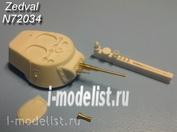 N72034 Zedval 1/72 Set of parts for BT-7
