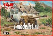 35701 ICM 1/35 7,62 cm Pak 36(r) WWII German Anti-Tank Gun