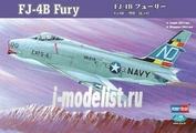 80313 HobbyBoss 1/48 Aircraft Fj-4b Fury