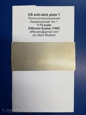 172002 Different Scales 1/72 Плиты антискольжения