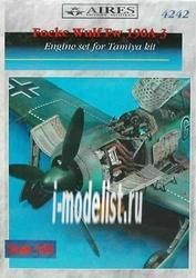 4242 Aires 1/48 Набор дополнений Fw 190A-3 engine set