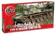 1319 Airfix 1/76 Chi Ha Tank – Type 97