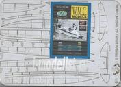WMC-29-1 W.M.C Models 1/25 Дополнительный набор для модели Ferrari Antares (лазерная резка)