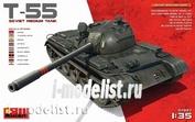 37027 MiniArt 1/35 Советский средний танк Т-55