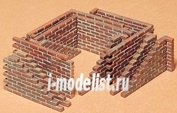 35028 Tamiya 1/35 Кирпичная стена 4 вида