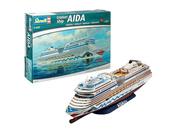 05230 Revell 1/400 Liner Cruiser Ship AIDAblu, AIDAsol, AIDAmar, AIDAstella