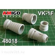 AMG48018 Amigo Models 1/48 МiGG-17Ф Реактивное сопло двигателя ВК-1Ф