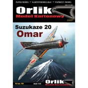 OR166 Orlik 1/33 Suzukaze 20 Omar