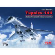 14401 ICM 1/144 Ту-144, Советский сверхзвуковой пассажирский самолет
