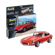 67668N Revell 1/24 Car Set Jaguar E-Type Coupé + Paint