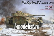 BT-001 Border Model 1/35 Pz.Kpfw.IV Ausf.G Mid/Late (2 IN 1)