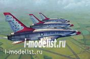 02822 Aircraft 1/48 Trumpeter F-100D Thunderbirds