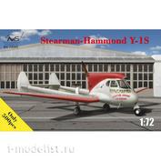 72045 Avis 1/72 Stearman-Hammond Y-1S USA
