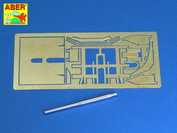 72 L-47 Aber 1/72 Italian 90mm barrel for 90/53 Gun and additional fully detailed shield