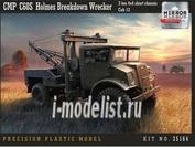 35164 Mirror-models 1/35 CMP C60S Holmes Breakdown Wrecker 3 ton 4x4 short chassis Cab 13