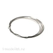 AH0162 Aurora Hobby Проволока из нержавеющей стали, диаметр 0.20 мм (5 метров)